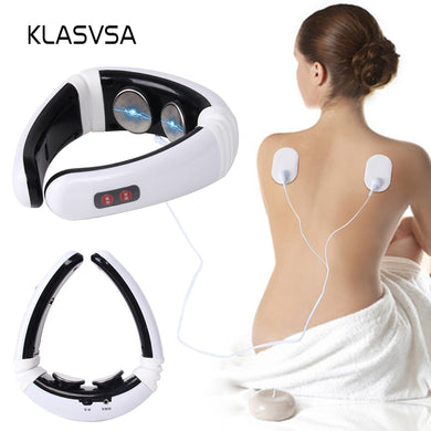 KLASVSA Electrode Cervical Neck Massager & More!