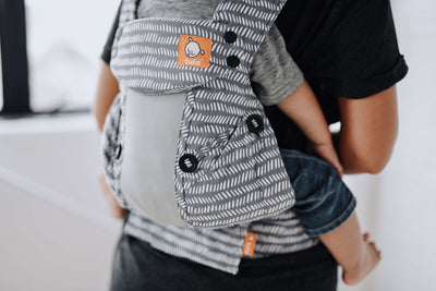 Tula Explore front facing baby carrier Coast Beyond