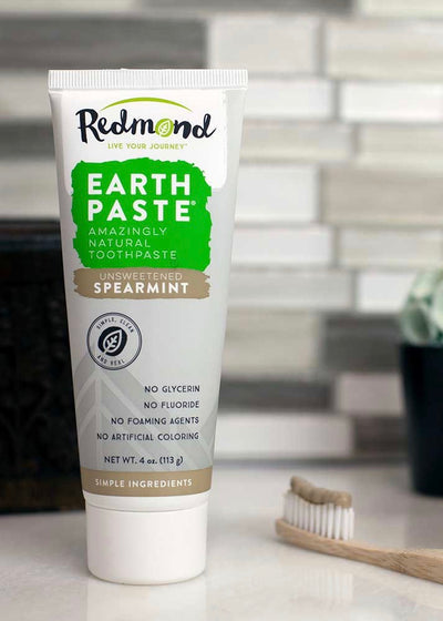 Earthpaste Natural Toothpaste natural, organic and safe for your baby's skin from Raising A Little