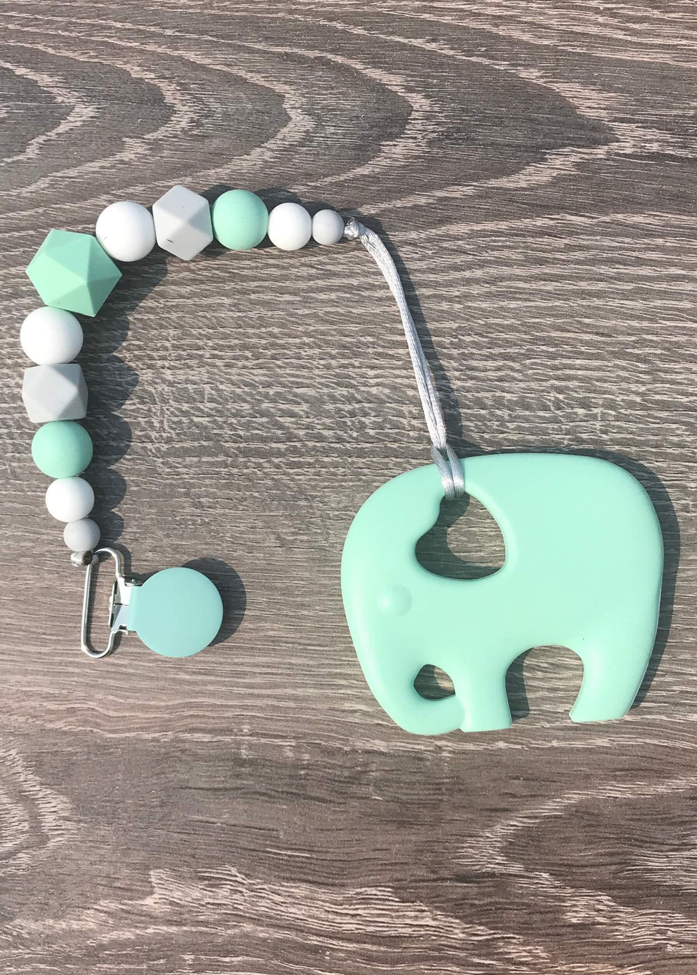 Teething Toy with Clip from Raising A Little at Raising A Little