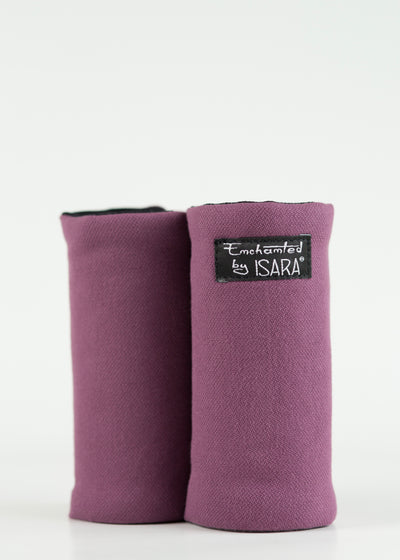 Purple Isara Suck pads for baby carrier, Wrap Conversion teething pads,