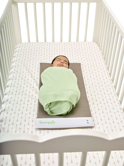 Tranquilo mat Canada, soothing vibration and white noise for baby colic and sleep