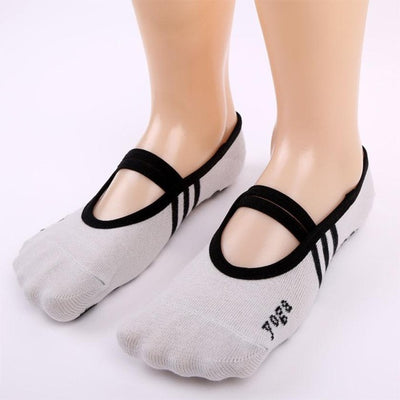 Fitness Socks Non Slip Pilates Massage Ballet Socks