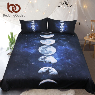 Moon Eclipse Changing Bedding Set