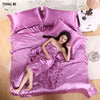 Pure Satin Silk Bedding Set