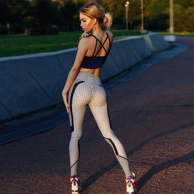 Women High Waist Yoga Fitness Legging
