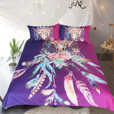 Floral Dream Catcher Bedding Set