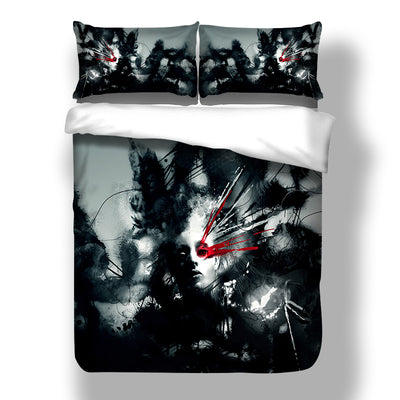 Cool Man 3D Bedding Set