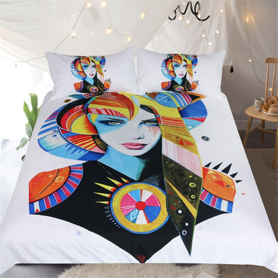Native Girl by Pixie Cold Art Bedding Set