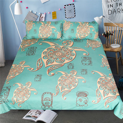 Turtles Animal Tortoise Bedding Set