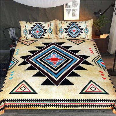 Geometric Printed Bedding Set