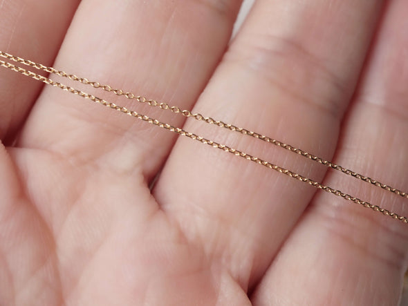 Ultra Thin Chain in 14K Yellow Gold CHY4