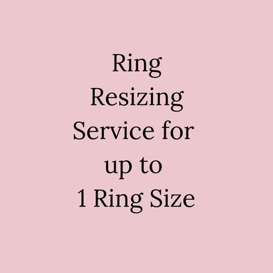 Ring Resizing Service For Up To 1 Ring Size