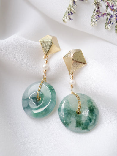 Unique Jade Earrings 22