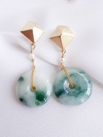 Unique Jade Earrings 26