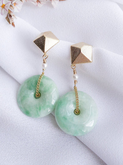 Unique Jade Earrings 32