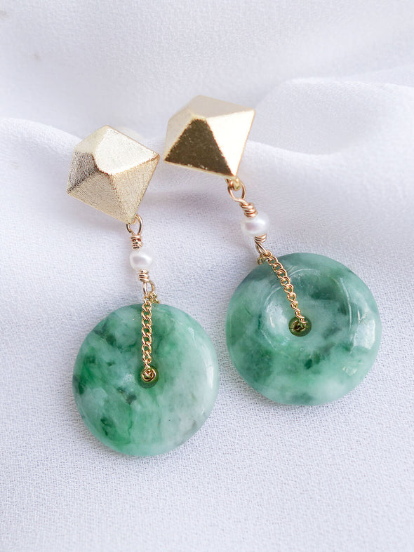Unique Jade Earrings 36