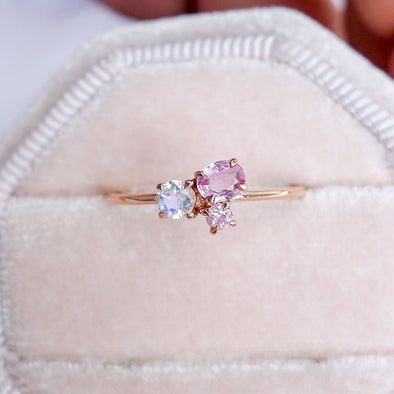 Blush Skies Ring in 14K Rose Gold - BSR3R30