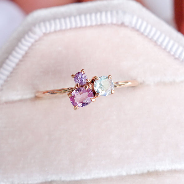 Blush Skies Ring in 14K Rose Gold - BSR3R31