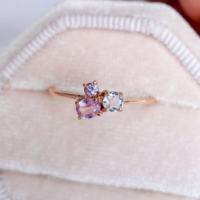 Blush Skies Ring in 14K Rose Gold - BSR3R32