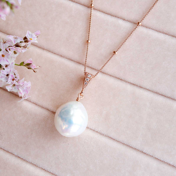 Baroque Pearl Necklace 25