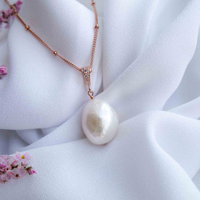 Baroque Pearl Necklace 24