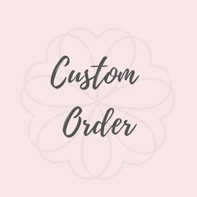 Custom Order for Jeremy