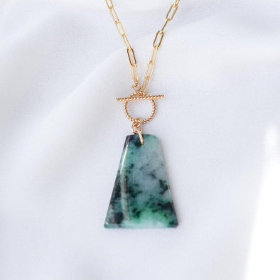 Unique Jade Necklace - D022