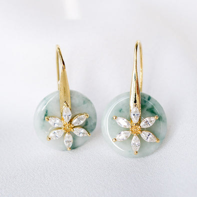 Daisy Hook Jade Earrings DJ132