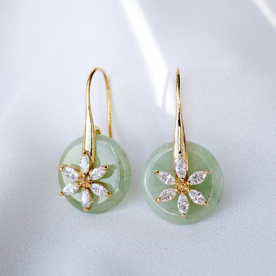 Daisy Hook Jade Earrings DJ17