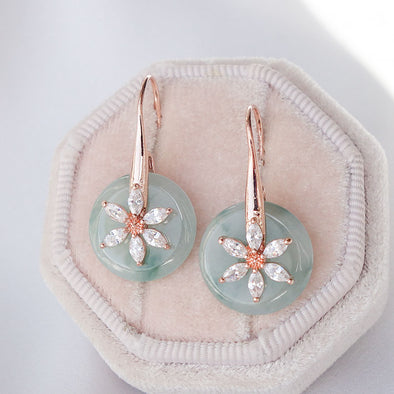 Daisy Hook Jade Earrings DJ26
