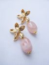 Bridesmaid Earrings Pink Morganite #5