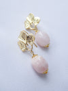 Bridesmaid Earrings Pink Morganite #6