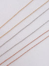 Fine Rope Chain in 14K Rose Gold CHR8