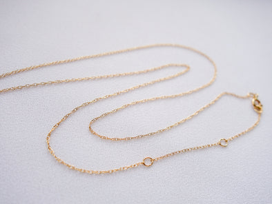 Fine Rope Chain in 14K Yellow Gold CHY7