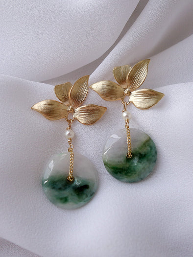 Unique Jade Earrings 3