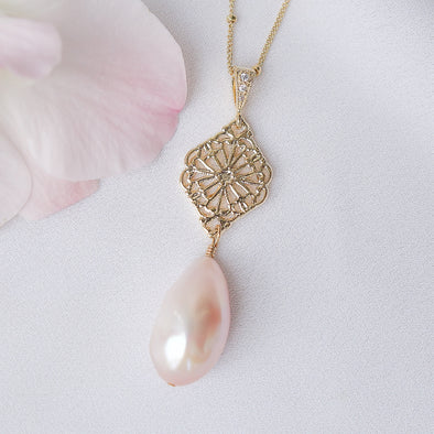 Baroque Pearl Necklace 4