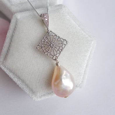 Baroque Pearl Necklace 12