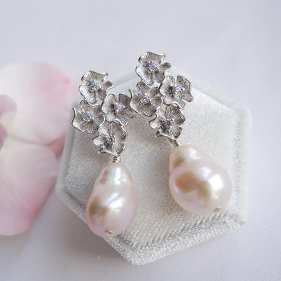 Baroque Pearl Earrings 18