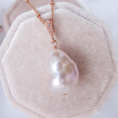 Baroque Pearl Necklace - RG62