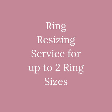 Ring Resizing Service For Up To 2 Rings Sizes