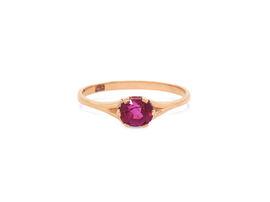 Ruby You Are Enough Ring