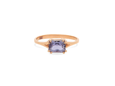 Tanzanite You Are Enough Ring in 14K Rose Gold