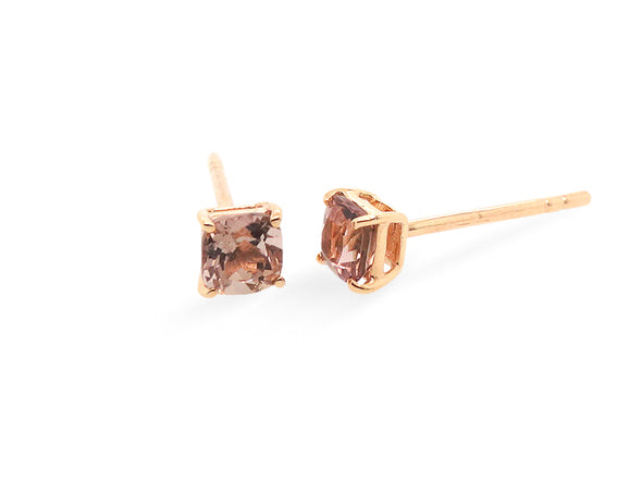 Tourmaline Solitaire Ear Studs