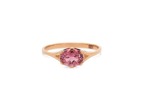 Tourmaline You Are Enough Ring - Interval Bezel