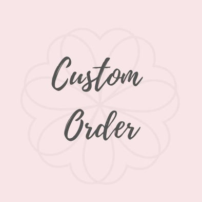 Custom Order for Grace