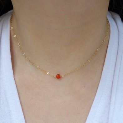 Dainty Gem Choker Necklace