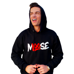 BLACK CLASSIC PULLOVER HOODIE