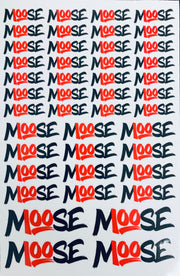 MOOSE STICKER BUNDLE (ALL STICKERS)