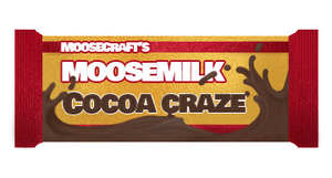 "MOOSECRAFT'S MOOSE MILK ""COCOA CRAZE"" CHOCOLATE BAR"